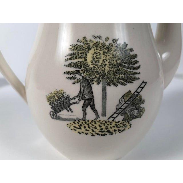 Eric Ravilious Garden Series Coffee Service for Wedgwood - 4 Pc. Set For Sale In Boston - Image 6 of 13