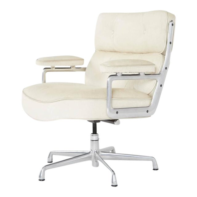 Hair-On Hide Time Life Lobby Chairs by Eames for Herman Miller For Sale