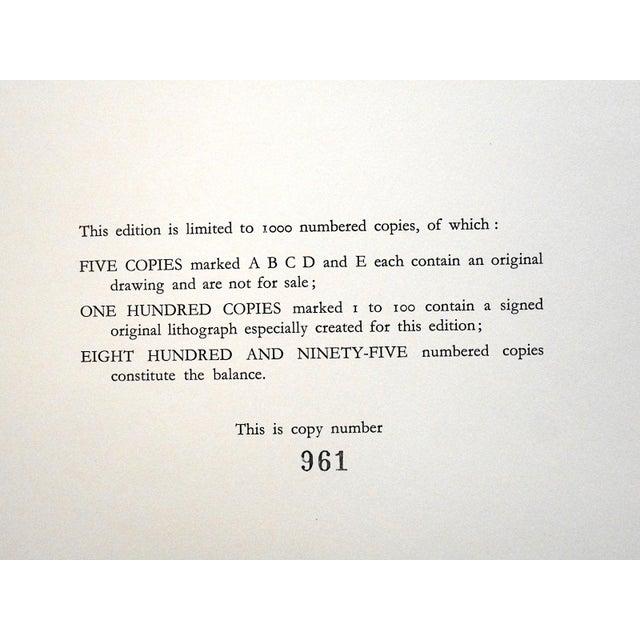 Vintage Mid 20th C. Ltd. Ed. Lithograph-Marcel Vertes c.1961 - Image 3 of 4