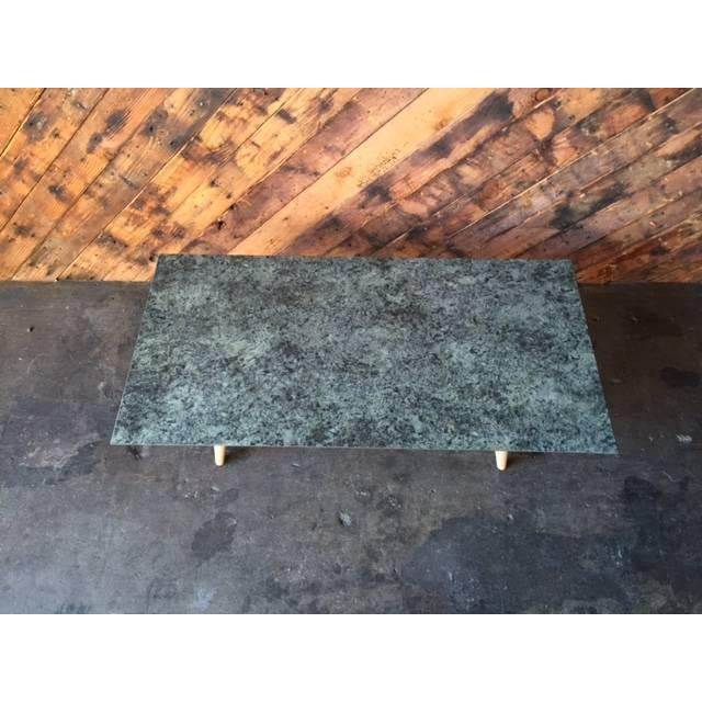 Contemporary Mid-Century Style Formica Coffee Table - Image 3 of 7