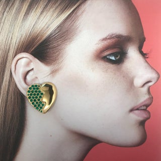 Heart Clip-On Earrings by Yves Saint Laurent Preview