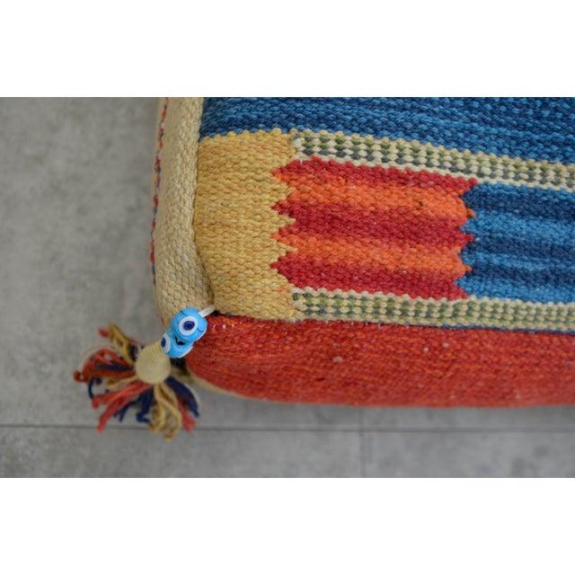 Floor Pillow Insert 30 X 30 : Turkish Hand Woven Kilim Floor Pillow - 30? X 30? Chairish