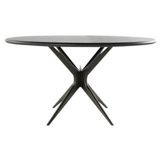 Italian Stamford Modern's Walnut Gazelle Dining Table For Sale