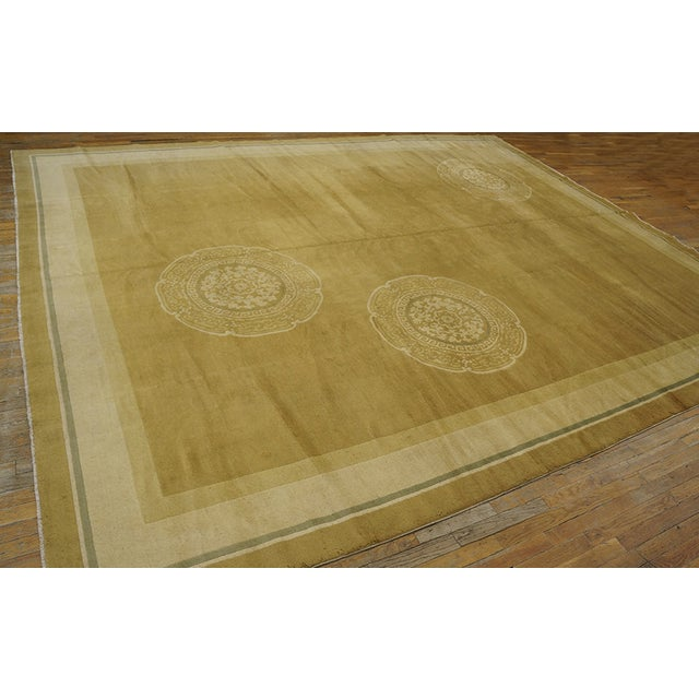 Antique Chinese Art Deco Rug For Sale - Image 9 of 12