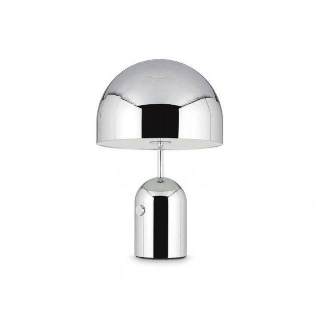 2010s Tom Dixon Bell Table Lamp Large Chrome For Sale - Image 5 of 5