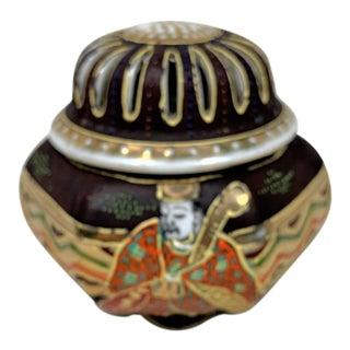 Vintage Japanese Satsuma Incense Burner For Sale