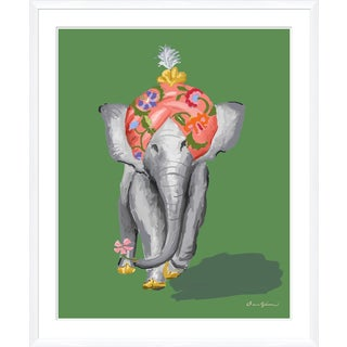 """Procession in Green"" By Dana Gibson, Framed Art Print For Sale"