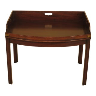 Kittinger Wa-1042 Colonial Williamsburg Mahogany Coffee Table For Sale