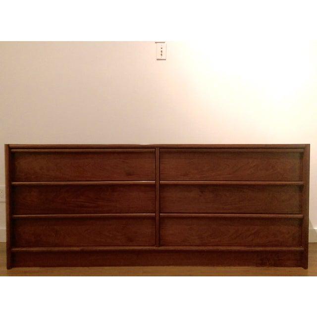 Mid-Century Modern 6-Drawer Rosewood Dresser From Belgium - Image 7 of 10