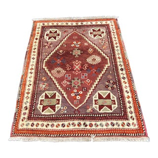 "Vintage Turkish Anatolian Rug - 3'10""x5'5"" For Sale"