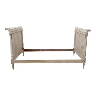 Antique French Directoire Daybed French Napoleon Twin Headboards French Canopy DaybedHeadboarrd For Sale