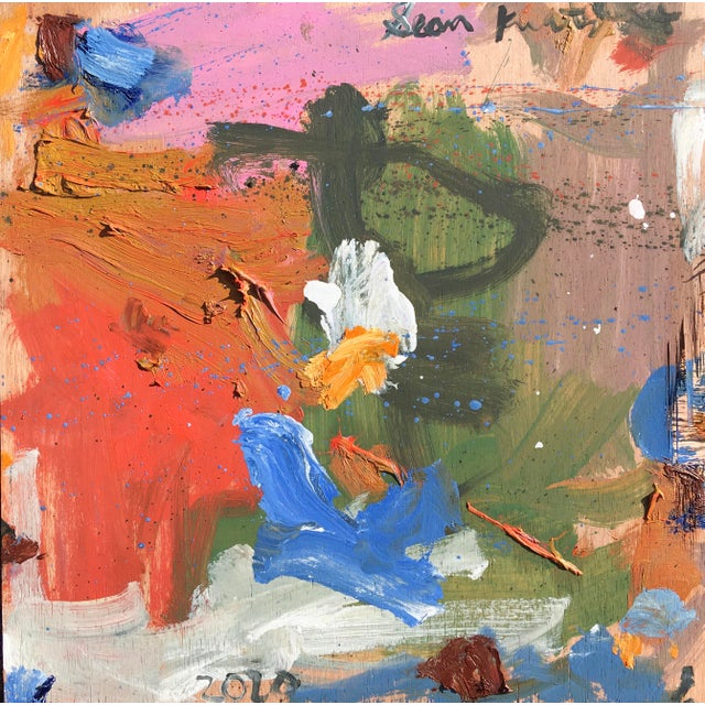 'Standoff' Abstract Oil Painting by Sean Kratzert For Sale In New York - Image 6 of 7