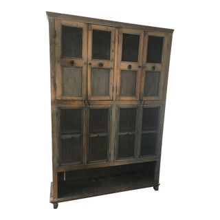 Antique 1800's Indian Cabinet For Sale