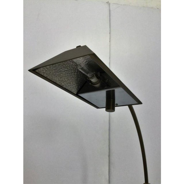 Modern Satin Bronze Pharmacy Lamp by Casella - Image 4 of 5