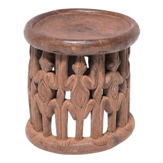 Bamileke Chameleon Stool For Sale