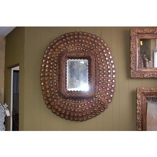 Large Oval Peacock Mirror Preview