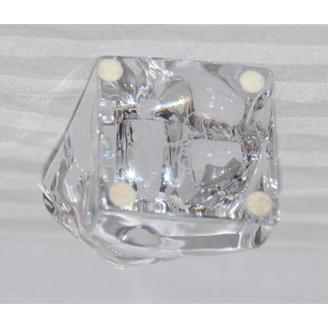 """Traditional Orrefors Sweden Crystal Gorilla Paperweight Figurine """"Bob Hope Classic Mark"""" For Sale - Image 3 of 7"""