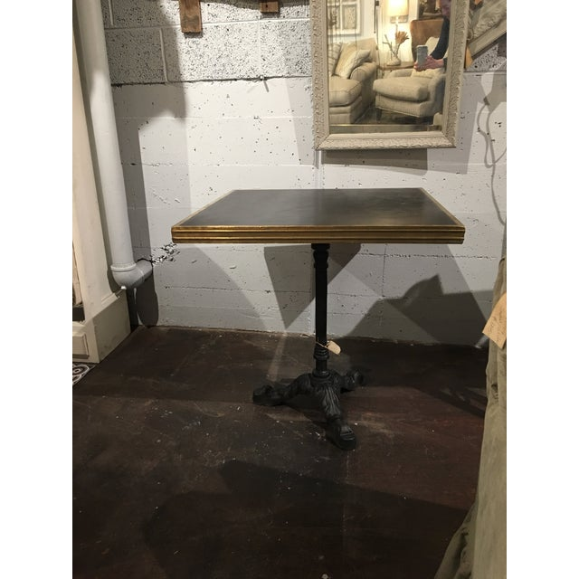 Belle Epoque Vintage French Bistro Table For Sale - Image 3 of 13