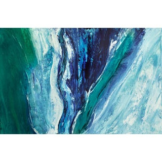 "Kelley Batson Howard ""Waterworld"" Contemporary Painting For Sale"