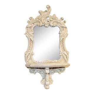 Venetian Italian Bracket Mirror For Sale