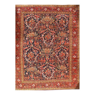 "Pasargad Original Persian Sultanabad Mostofi Design Wool Rug - 10'8"" X 13'9"" For Sale"