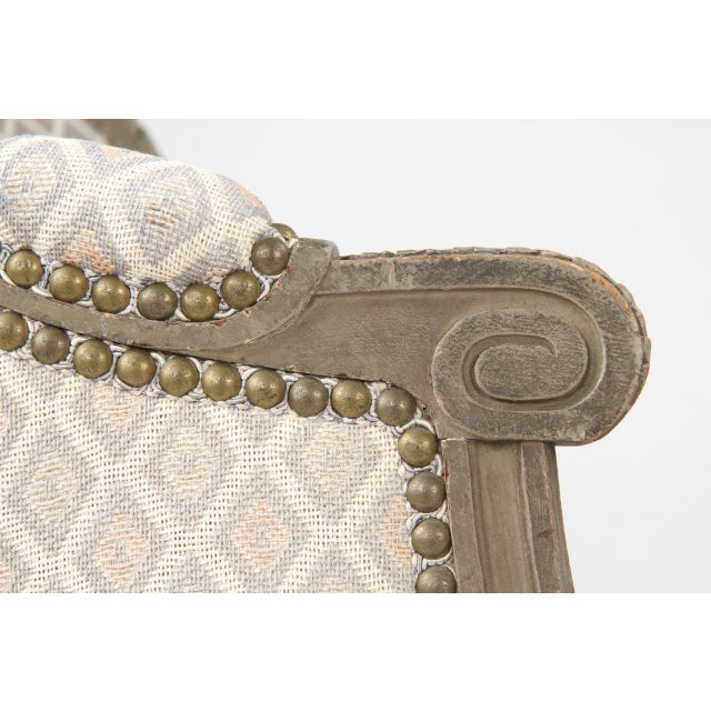 French Louis XVI Style Chaise Lounge, Circa 1900 - Image 10 of 11