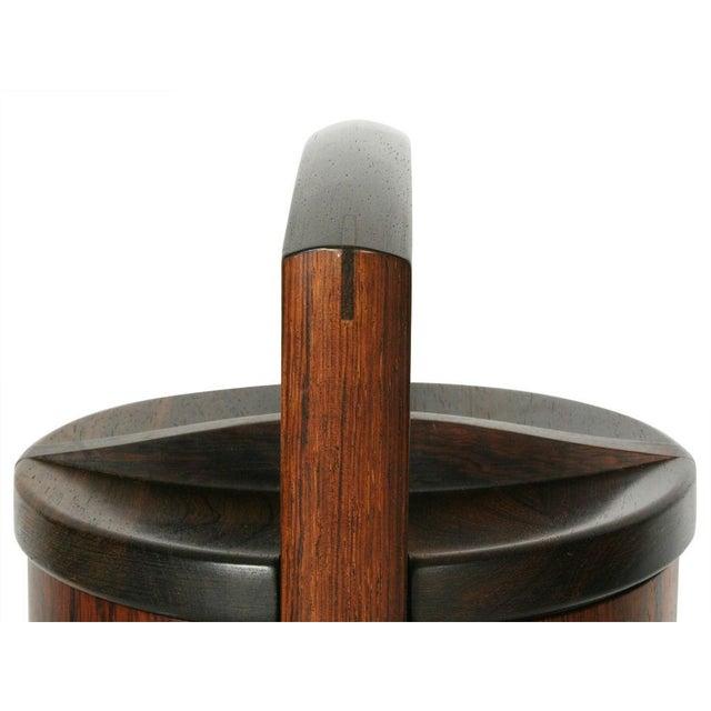 Danish Modern Jens Quistgaard for Dansk Palisander Ice Bucket For Sale - Image 3 of 6