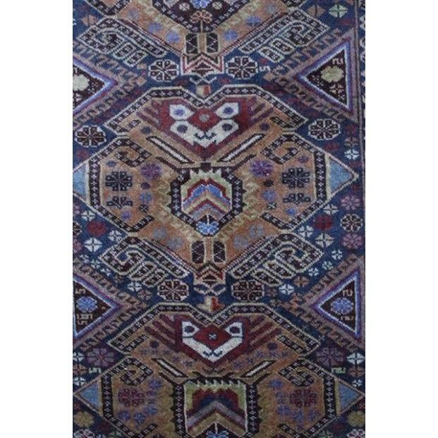 """Vintage Persian Balouch Rug - 2'9"""" X 4'5"""" - Image 6 of 9"""