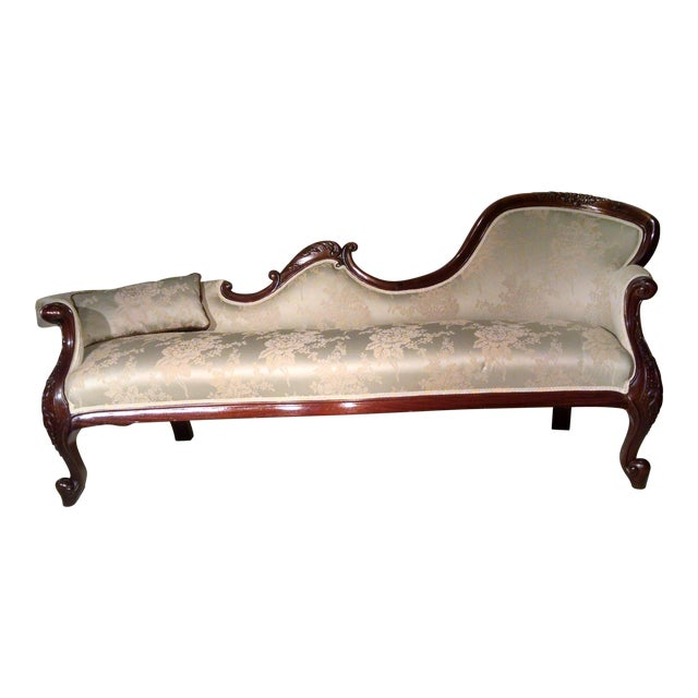 Antique Victorian Rosewood Sofa - Image 1 of 10