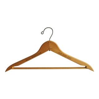 Hotel Manhattan Vintage Wooden Clothes Hanger