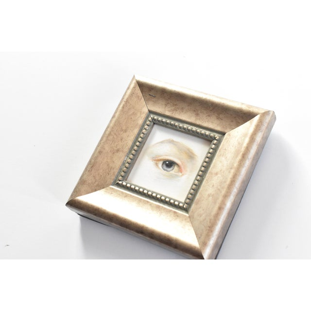 Susannah Carson Contemporary Lover's Eye Oil Painting by Susannah Carson For Sale - Image 4 of 5