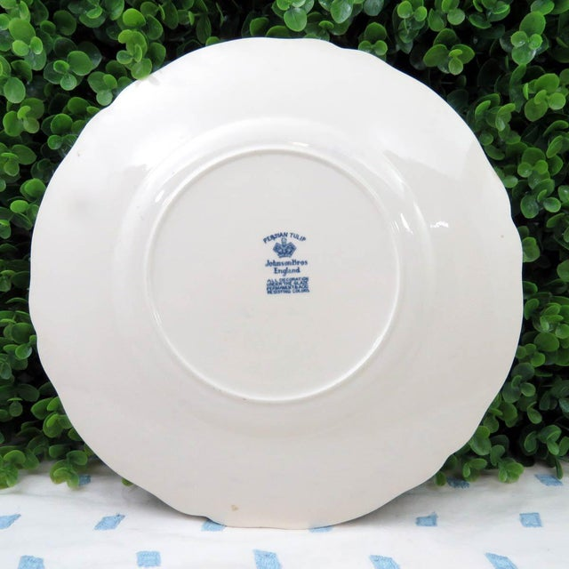 Vintage Mismatched Ironstone Dinner Plates - Set of 4 - Image 10 of 11