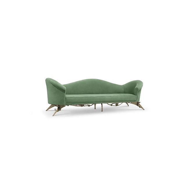 Mid-Century Modern Collete II Sofa From Covet Paris For Sale - Image 3 of 9