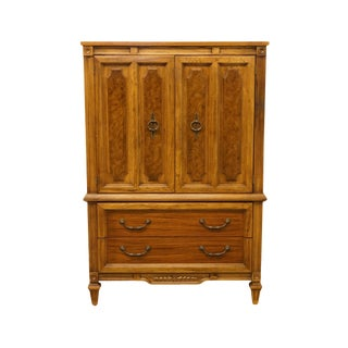 20th Century Italian American of Martinsville Door Chest / Armoire For Sale