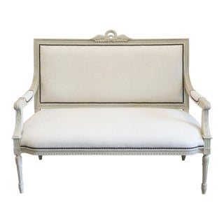 Hickory Chair Frederica Ivory Bench
