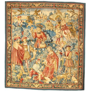 "Pasargad DC France Tapestry-6'1'x6'8"" For Sale"