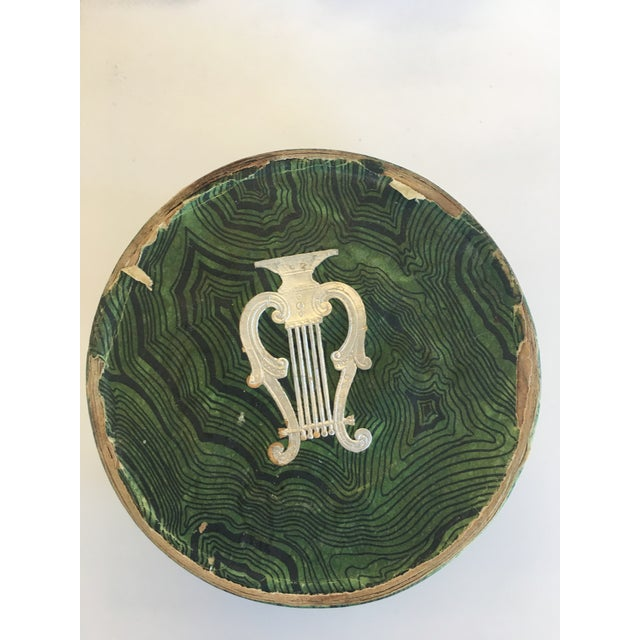 Mid 20th Century Vintage Musicalia Fornasetti Coasters - Set of 8 For Sale - Image 5 of 6