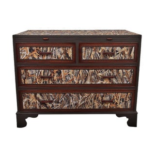 Arundel Mahogany Uk Grassland Camo Dresser For Sale