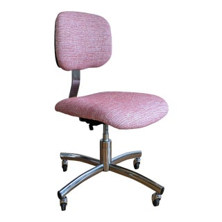 Pink Steelcase Desk Chair For Sale
