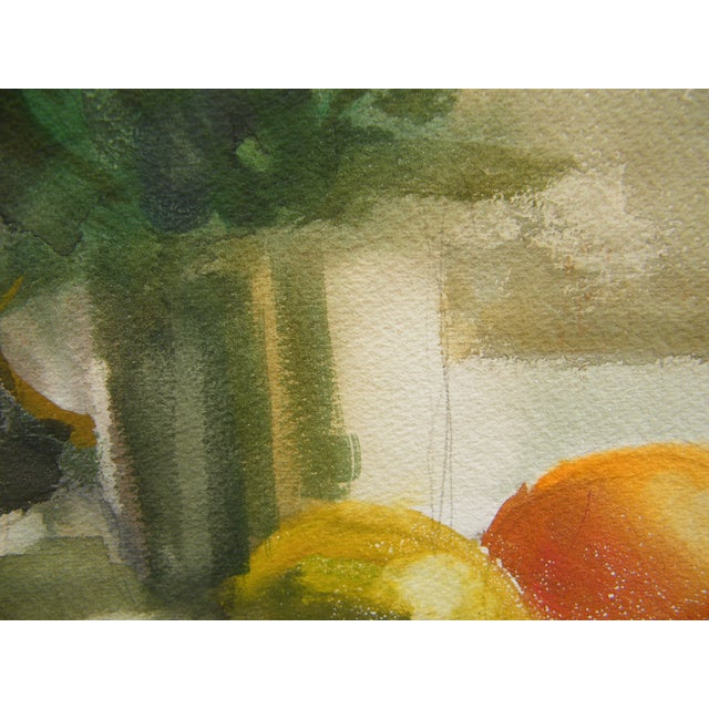 Vintage Still Life Svensto Watercolor Painting - Image 6 of 9