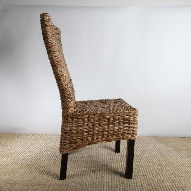Rattan Dining Chairs - Pair - Image 6 of 8