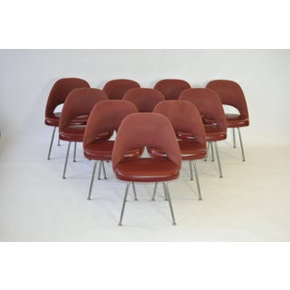 Set of Ten Vintage Eero Saarinen Chairs for Knoll Preview