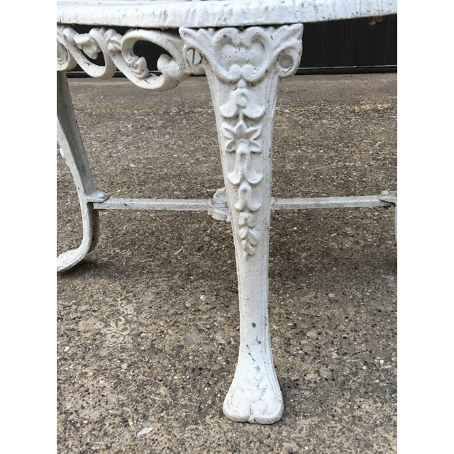 Iron Robert Wood Foundry Cast Iron Seven-Piece Garden Set For Sale - Image 7 of 10
