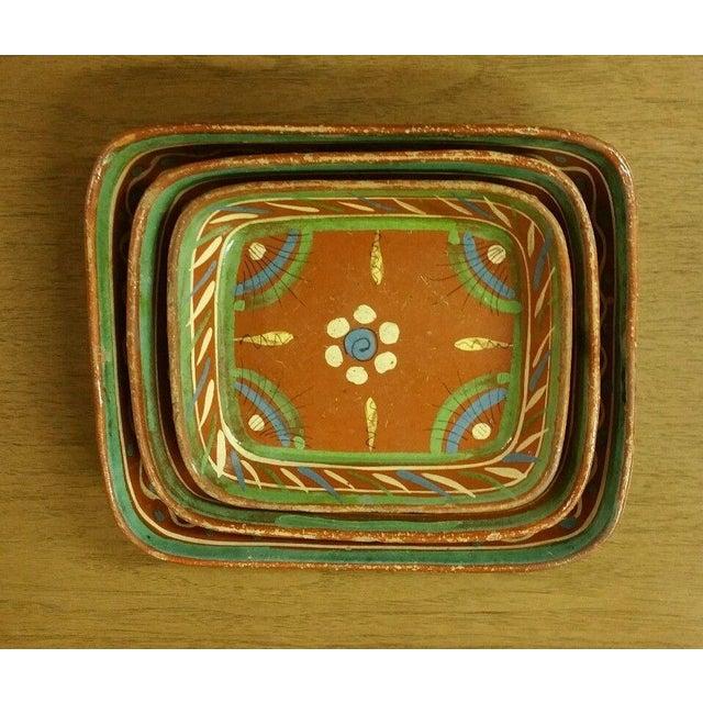 Tlaquepaque Mexican Bowls - Set of 3 - Image 7 of 7