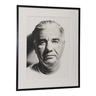 "Heidi McFall (American, 20th C.) ""Tony #1"" Original Charcoal Portrait C.2000 For Sale"