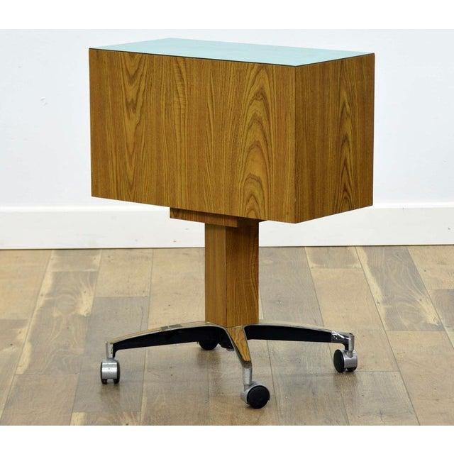 Wood 1960s Mid-Century Scandinavian Dental Cabinet For Sale - Image 7 of 8