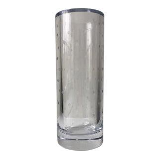 Kate Spade Larabee Dot Cylinder Vase For Sale