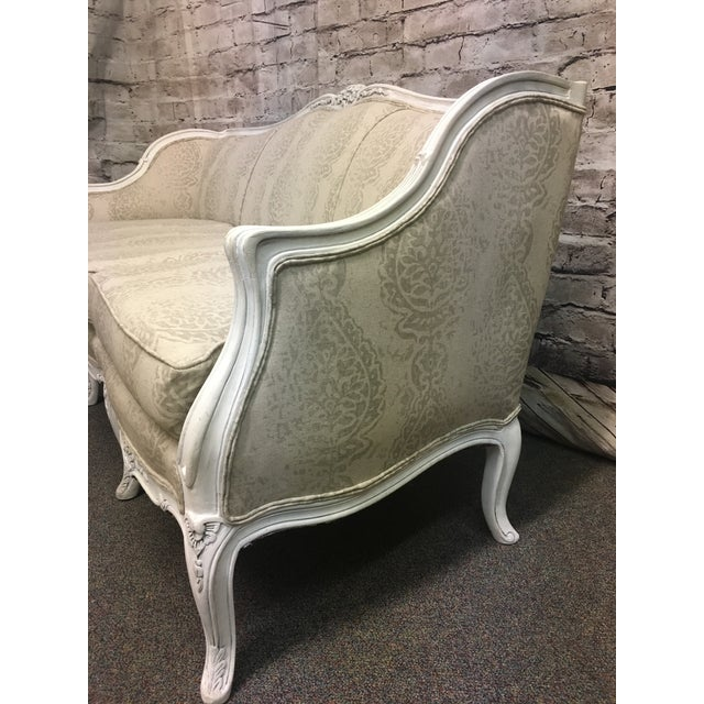 Reupholstered Vintage French Style Sofa - Image 4 of 7