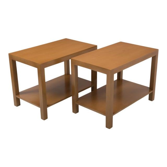 T.H. Robsjohn Gibbings Widdicomb Parsons End Tables - a Pair 1949 For Sale