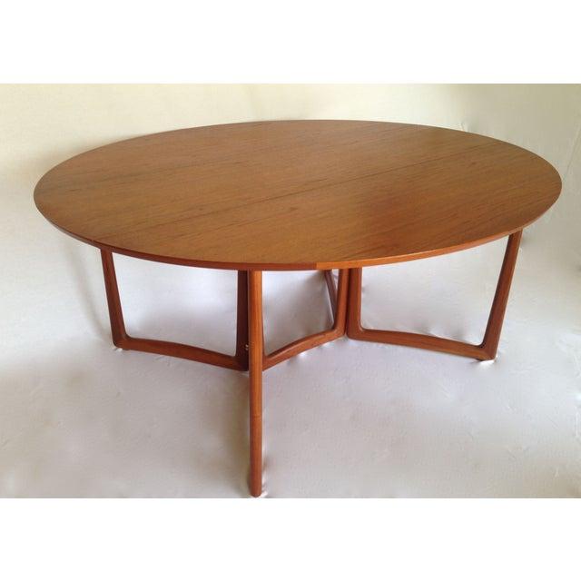 Peter Hvidt & Orla Molgaard Drop-Leaf Table - Image 2 of 9